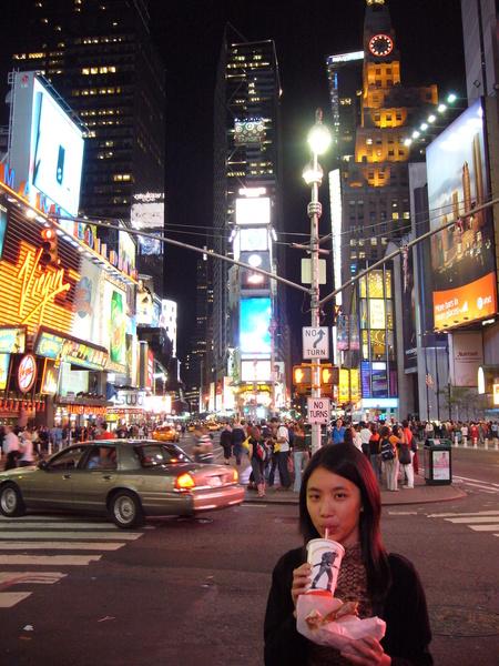 紐約的街頭