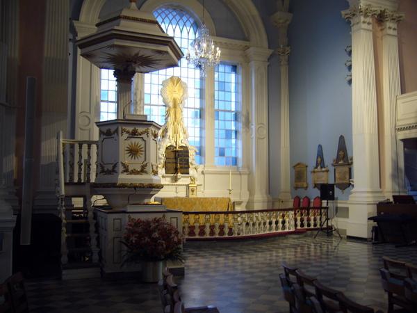 世貿附近的教堂