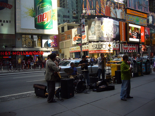 紐約街頭樂隊