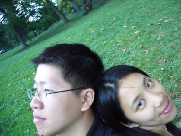 中央公園自拍