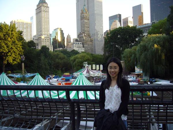中央公園裡的遊樂園