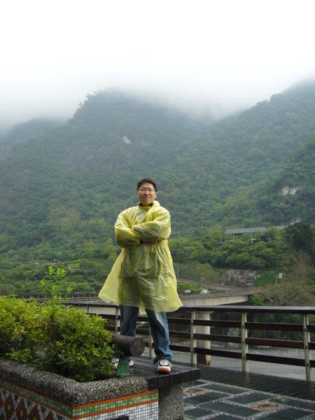 風大,霧大,又下雨的好天氣