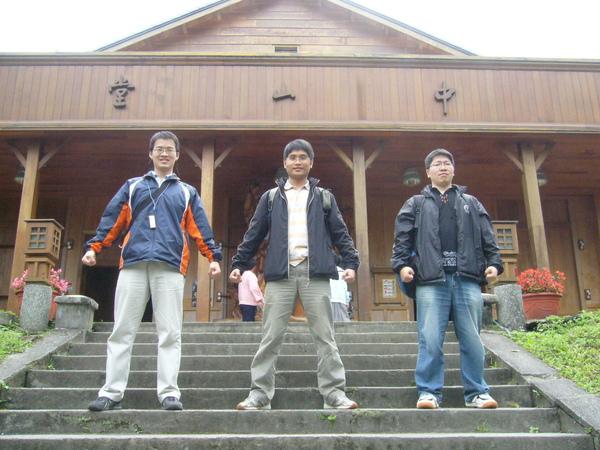 中山堂三巨人