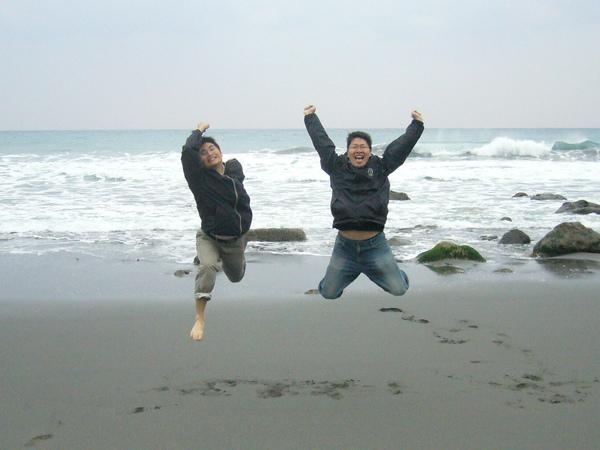 令人跳躍的海岸!