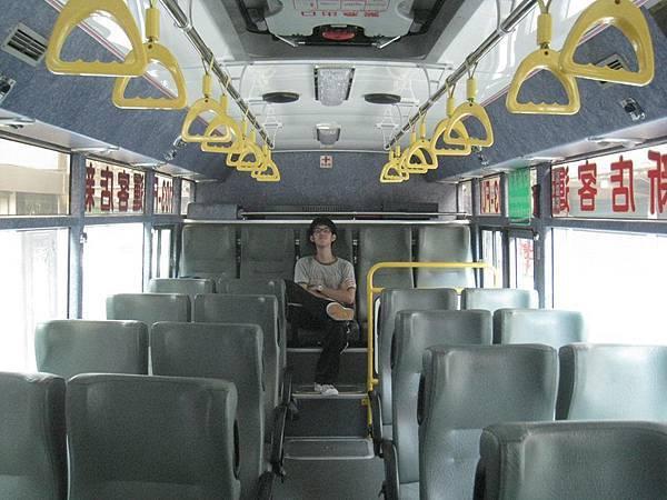 我,公車上的霸者