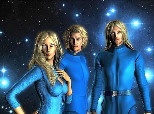 Pleiadian Commanders