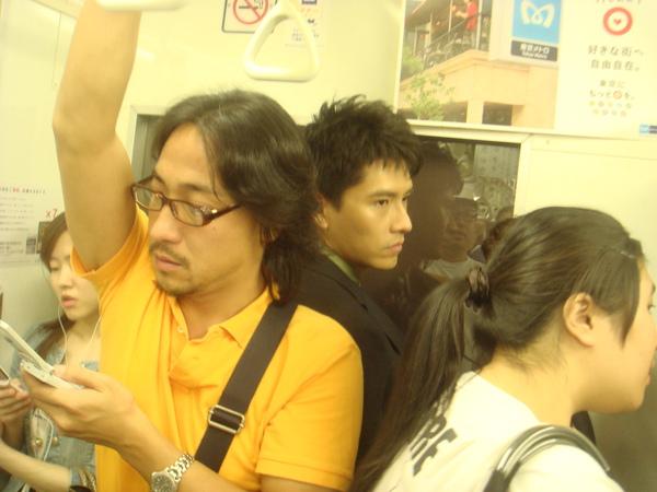 體驗下班時的電車.JPG