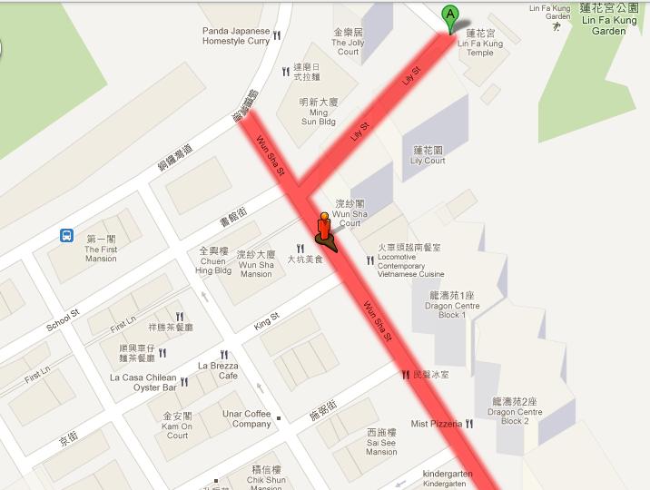 大坑舞火龍map1