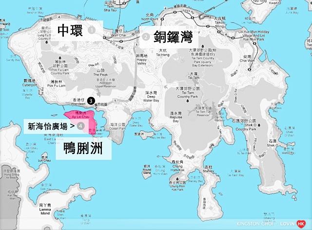 新海怡廣場Map