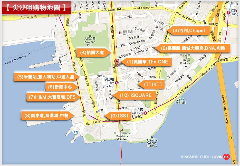 TST map