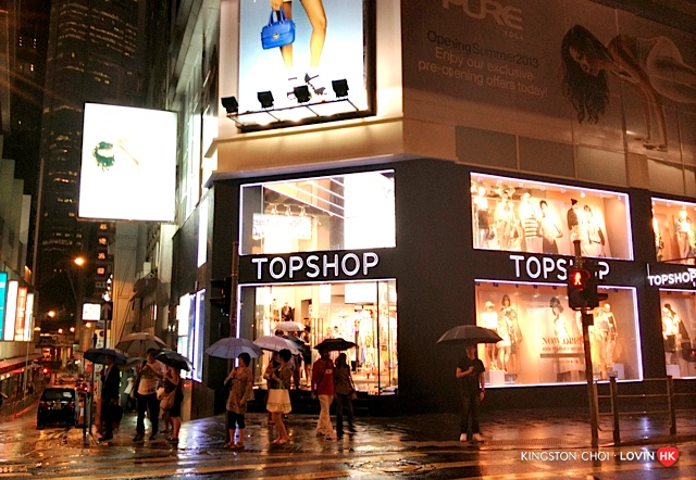 香港購物攻略 Topshop 01