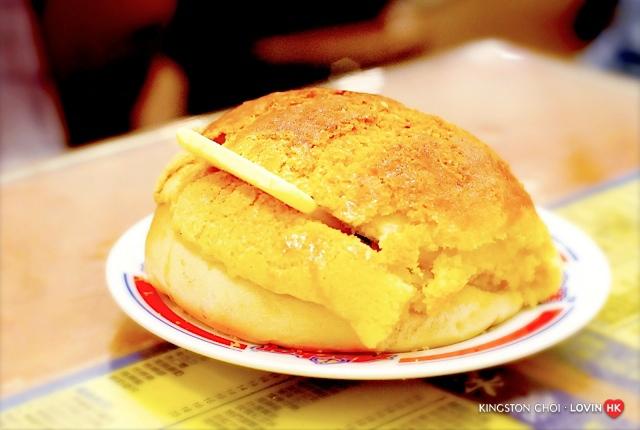 香港必吃20大美食_12金華冰廳菠蘿包b.jpg