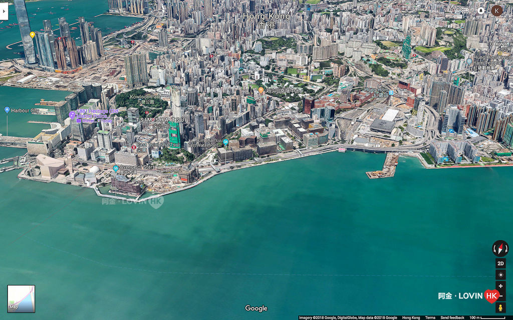 香港跨年煙火攻略阿金_港島_Google map_7.jpg