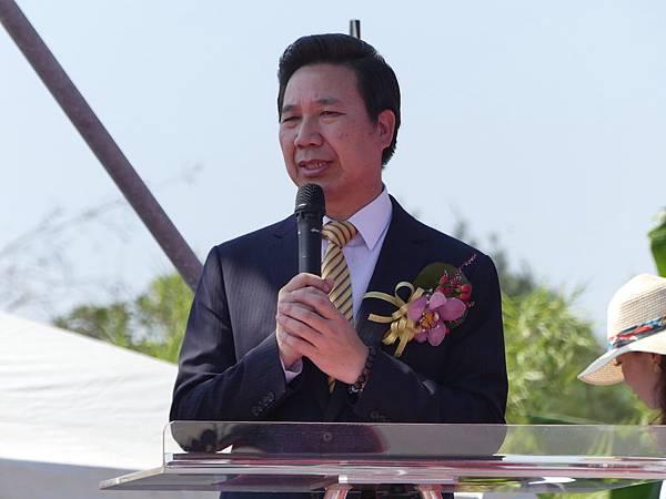 兩岸通水,陳福海致詞。記者盧禮賓/攝影.jpg