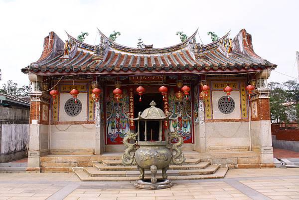 牧馬侯祠古樸的廟宇建築