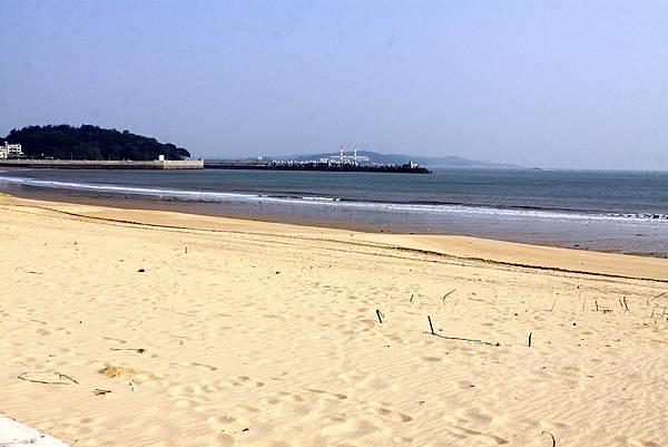 東林海濱公園美麗的黃金海灘