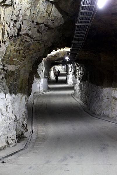 獅山砲陣地擁有最高大的坑道設施