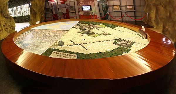 金城民防道模型展示