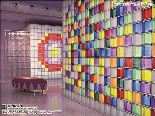 Mendini 玻璃磚