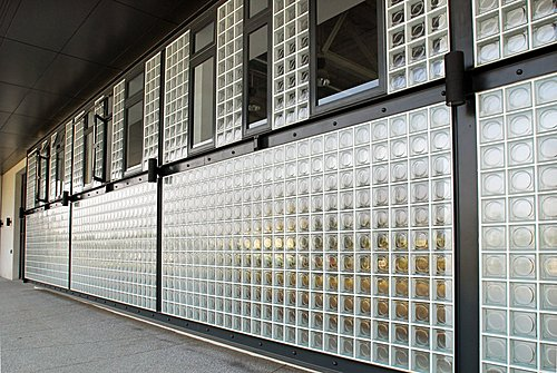 全月紋 玻璃磚