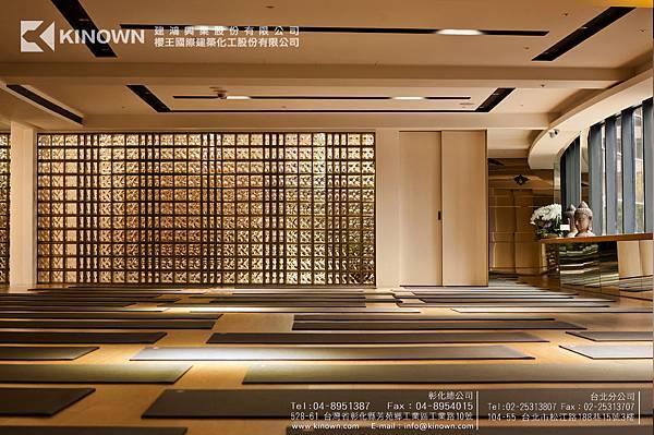 櫻王玻璃磚 Q19 O MET 棕黃色-1