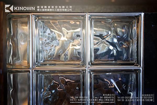 玻璃磚收邊處理