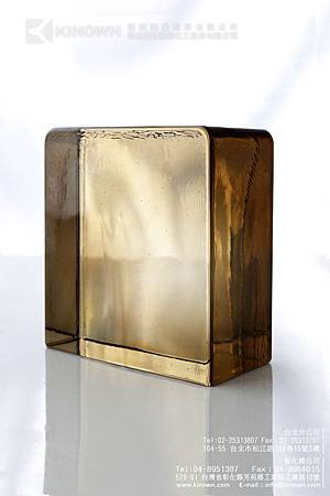 櫻王玻璃磚實心磚