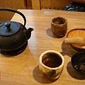 斑鳩的窩崇學店 手捏的茶杯+要磨的芝麻