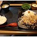 斑鳩的窩 大阪燒豬排定食