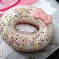 mister donut kitty 優格米多拿滋