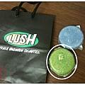 lush 冥想 洗髮餅
