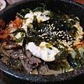 台南 韓朝 石鍋拌飯 牛肉