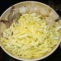 高雄 月島文字燒 白醬綜合海鮮起士