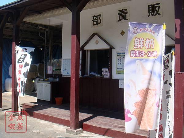 嘉義 嘉大 動物試驗場 霜淇淋