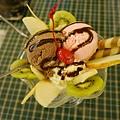 台南 綠屋 水果聖代