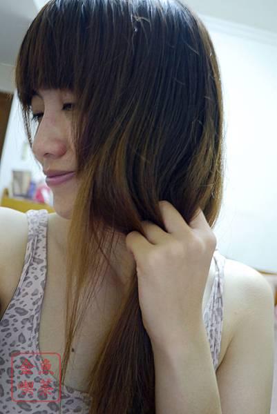 (試)mod's hair 淨感薄荷洗髮乳 吹乾後