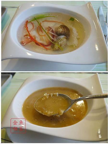 上品鐵板燒 海鮮湯/洋蔥湯
