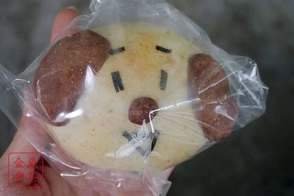 台南 吉田萬屋 狗狗紅豆麵包