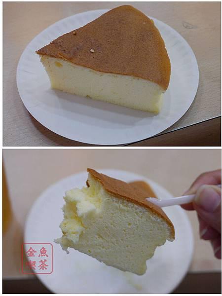 台南 狸小路手作烘焙蛋糕 貓咬乳酪切塊