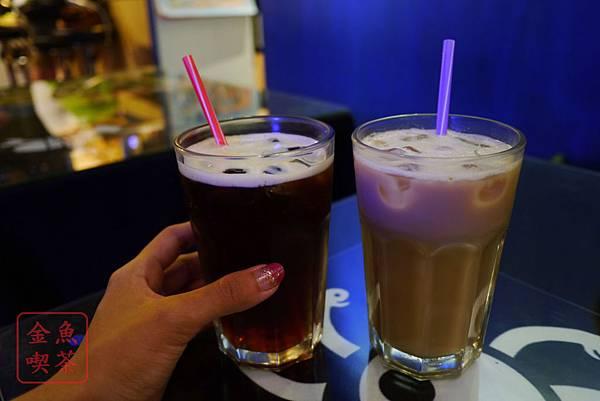 MON GA Bagel 紅茶、鮮奶茶