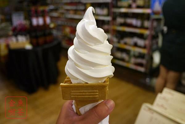 松青超市聖代霜淇淋 霜淇淋