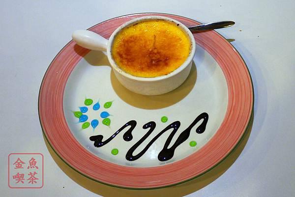 高雄 夢時代 艾可創義廚房 法式焦糖布蕾