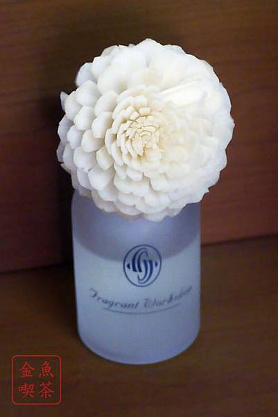 Fragrant Workshop aroma diffuser 薰衣草 花瓣漸漸半透明