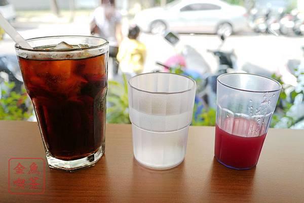 台南 翻滾吧蛋捲 可樂.水.西瓜汁