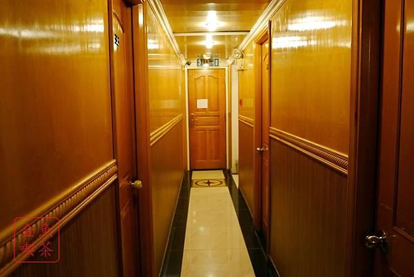 香港 美國酒店(旗下是威尼斯酒店) 走廊