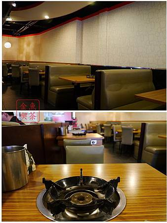 台南 饗麻饗辣 店內座位跟桌面