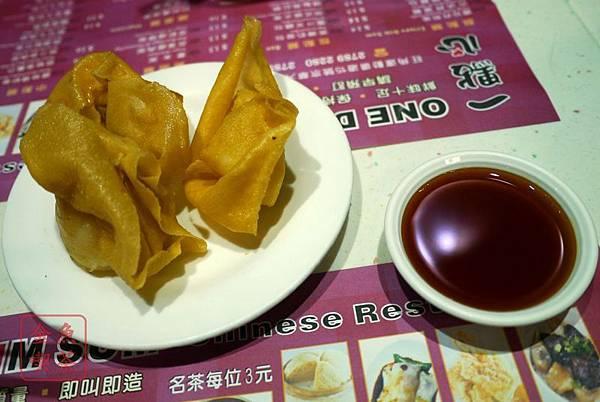 香港 太子站 一點心 酸甜炸雲吞