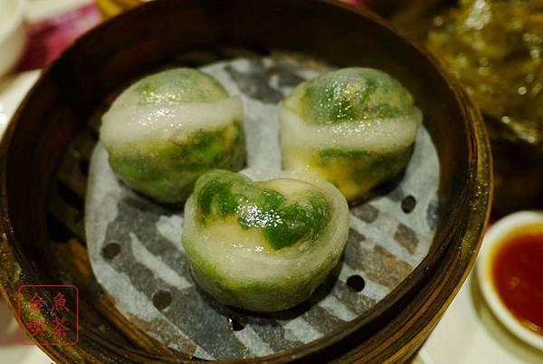 香港 太子站 一點心 鮮蝦菜苗餃
