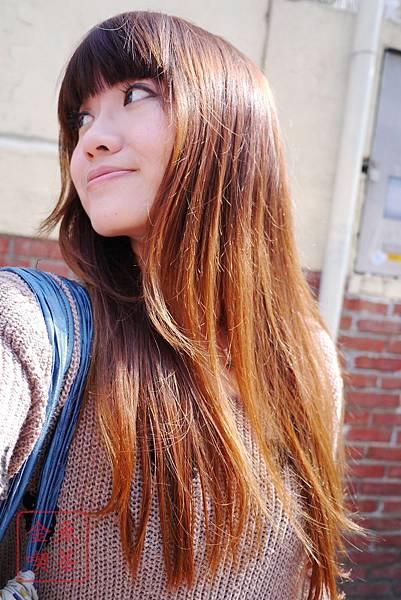 Liese莉婕 護髮菁華 隔天出門的樣子