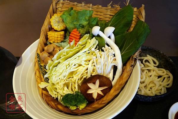 翰品酒店 品壽司 蔬菜盤